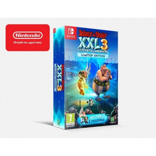 Asterix&Obelix XXL 3 – The Crystal Menhir Limited Edition (Nintendo Switch)