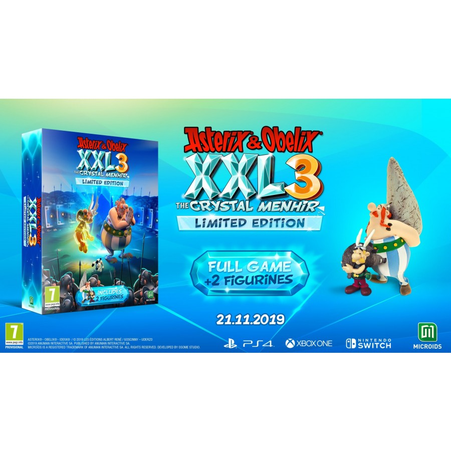 Asterix&Obelix XXL 3 - The Crystal Menhir Limited Edition (PS4)