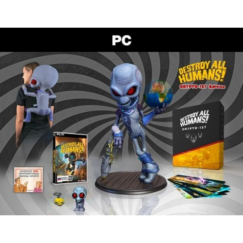 Destroy All Humans! Crypto-137 Edition (PC Box) (PC)