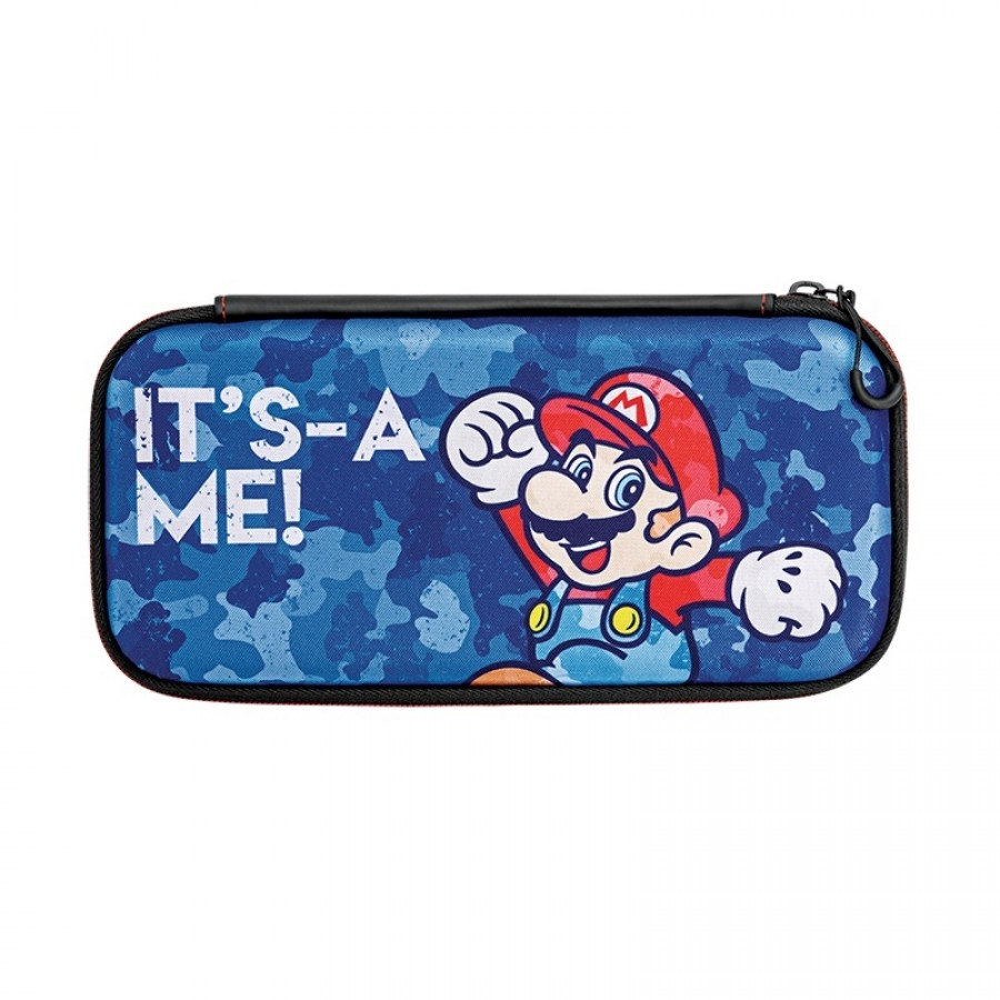 Дорожный чехол Nintendo Switch Slim Mario Camo