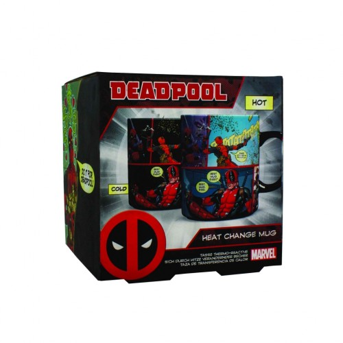Кружка Marvel Deadpool Heat Change