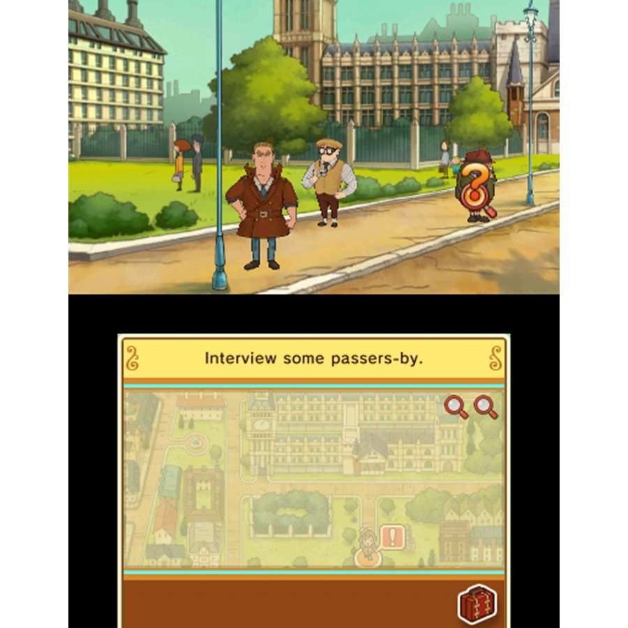 LAYTON'S MYSTERY JOURNEY: Katrielle and the Millionaires' Conspiracy (Nintendo 3DS)