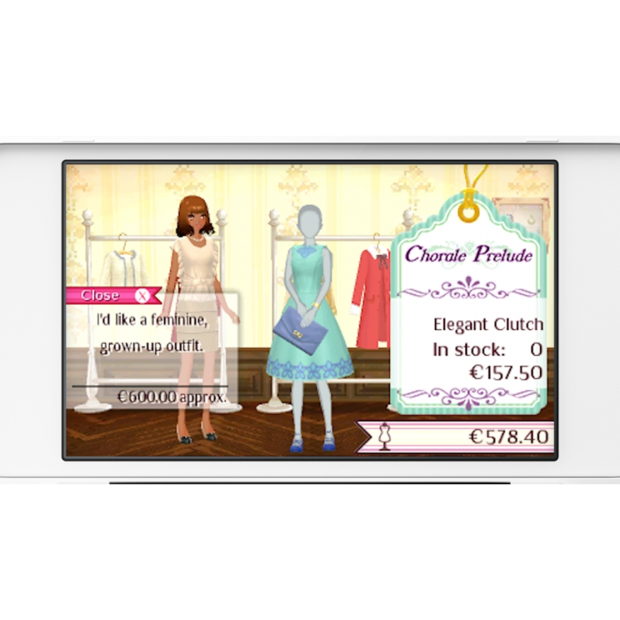 New Style Boutique 3 - Styling Star (Nintendo 3DS)