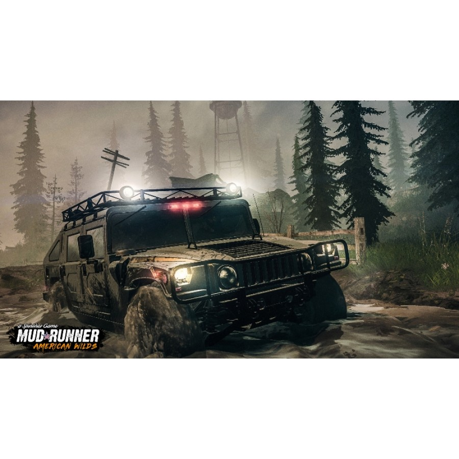 Spintires: MudRunner American Wilds (PS4)
