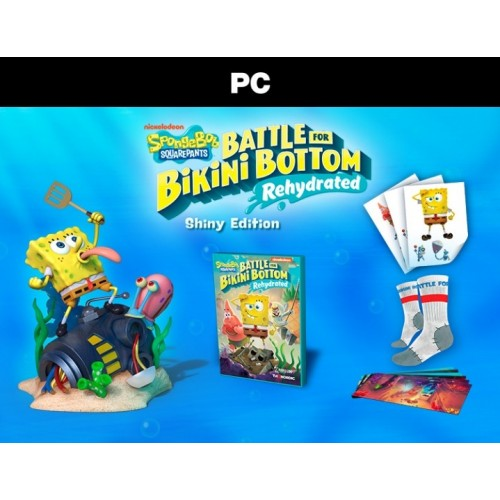 SpongeBob SquarePants: Battle For Bikini Bottom - Rehydrated - Shiny Edition (PC Box) (PC)
