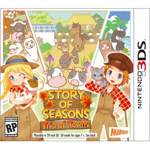 Story of Seasons: Trio of Towns (Nintendo 3DS)