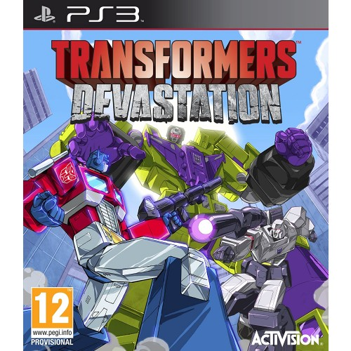 Transformers: Devastation. (PS3)
