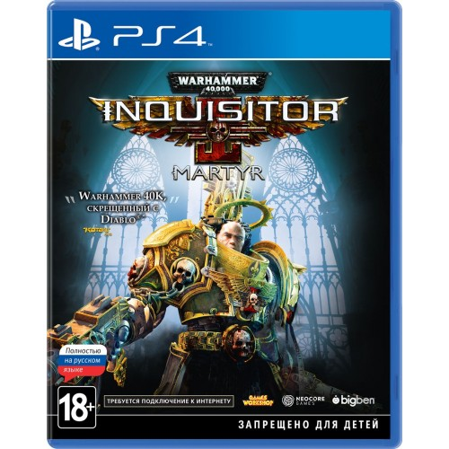 Warhammer 40,000: Inquisitor – Martyr Standard Edition (PS4)