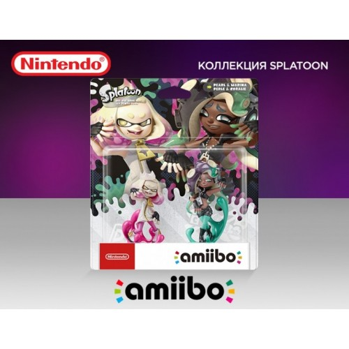 Жемчик и Мариша - amiibo (Коллекция Splatoon)