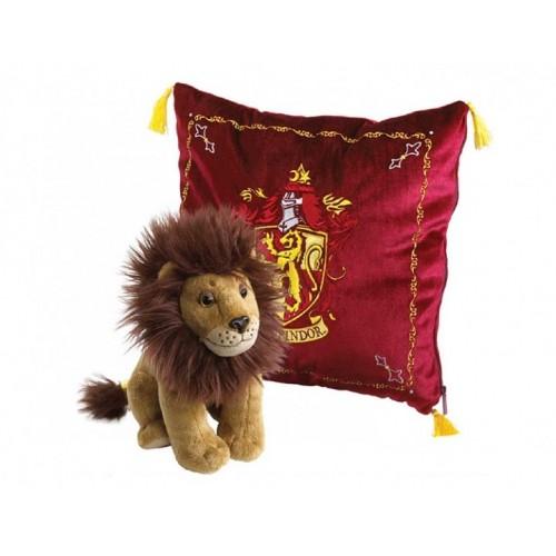 Мягкая игрушка Гарри Поттер Талисман Гриффиндора (лев + подушка)