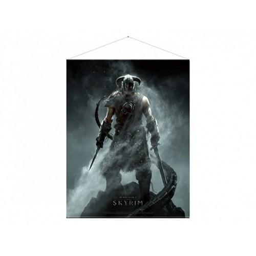 Тканевый постер Skyrim Dragonborn