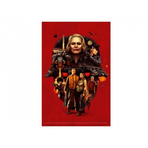 Постер Wolfenstein 2 Face of Death