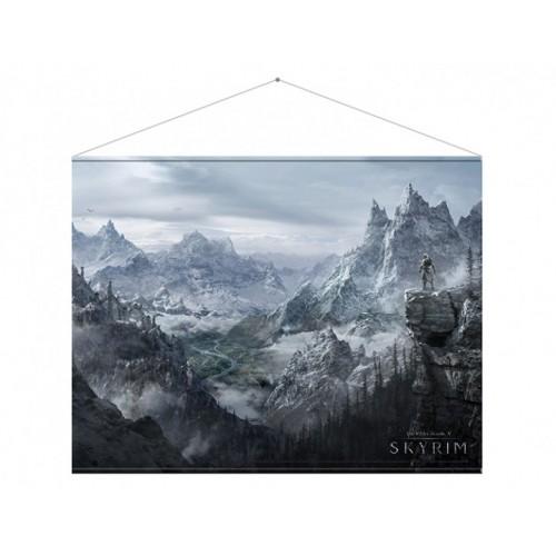 Тканевый постер Skyrim Valley