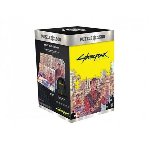 Пазл Cyberpunk 2077 Valentinos - 1500 элементов