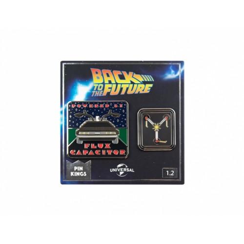 Значок Pin Kings Назад в будущее 1.2 (набор из 2 шт.)