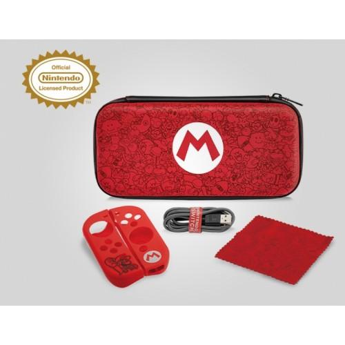 Чехол Nintendo Switch Mario Remix и набор аксессуаров