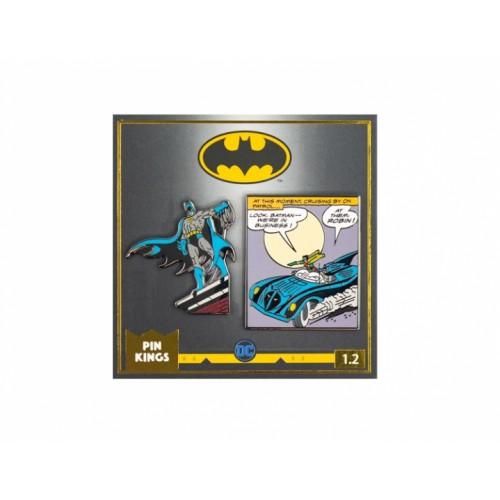 Значок Pin Kings DC Бэтмен 1.2 (набор из 2 шт.)
