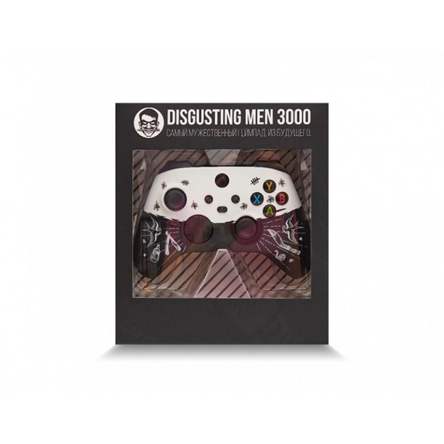 Кастомизированный беспроводной контроллер Xbox series S/X   «Disgusting Men»