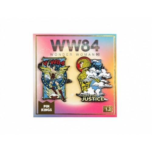Значок Pin Kings DC Чудо-женщина 84 1.2 (набор из 2 шт.)