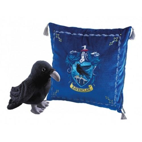 Мягкая игрушка Гарри Поттер Талисман Когтеврана (ворон + подушка)