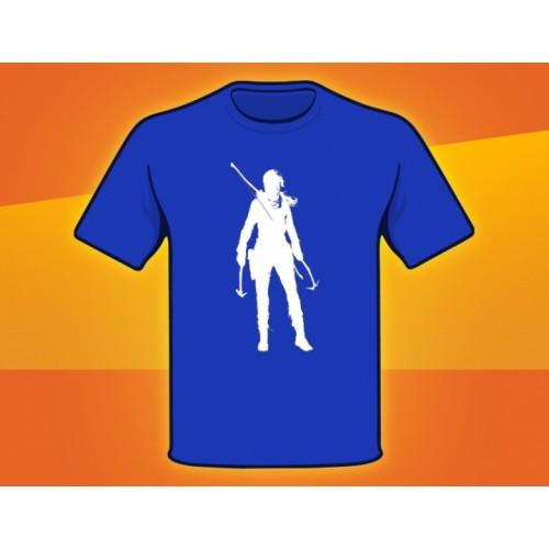 Подарок: футболка - RISE OF THE TOMB RAIDER (XL)