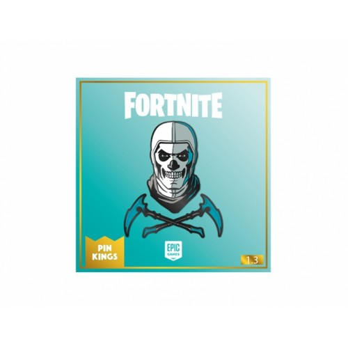Значок Pin Kings Fortnite 1.3 Skull Trooper (набор из 2 шт.)