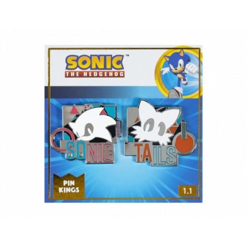 Значок Pin Kings Sonic the Hedgehog Remix 1.1 (набор из 2 шт.)