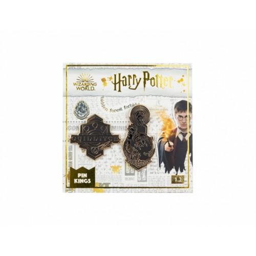 Значок Pin Kings Гарри Поттер 1.2 Квиддич и Живоглот (набор из 2 шт.)
