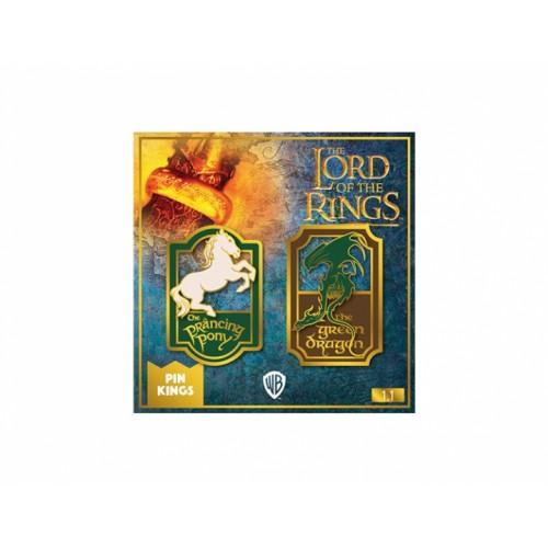 Значок Pin Kings Властелин колец 1.1 Пони и Дракон (набор из 2 шт.)