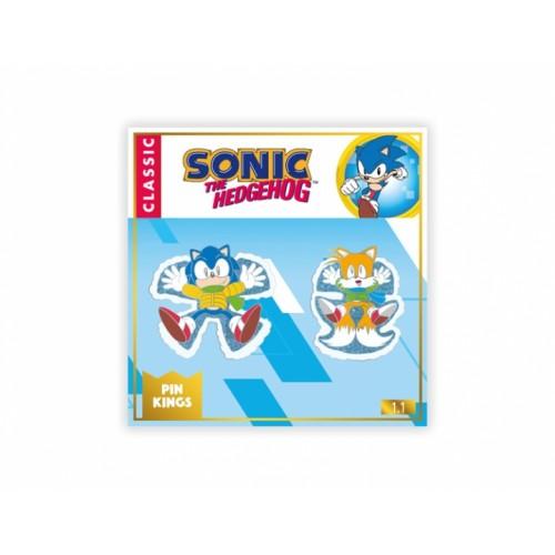 Значок Pin Kings Sonic the Hedgehog Classic 1.1 (набор из 2 шт.)