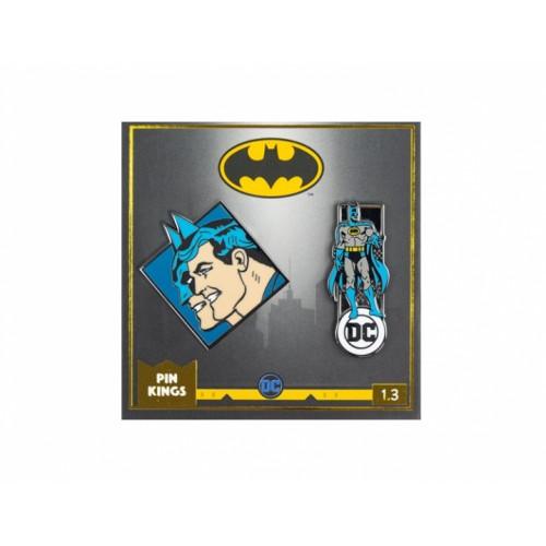 Значок Pin Kings DC Бэтмен 1.3 (набор из 2 шт.)