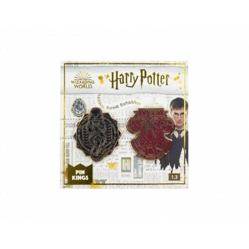 Значок Pin Kings Гарри Поттер 1.3 Чёрная метка и Добби (набор из 2 шт.)