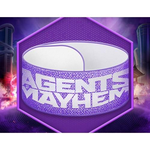 Подарок браслет Agents of Mayhem
