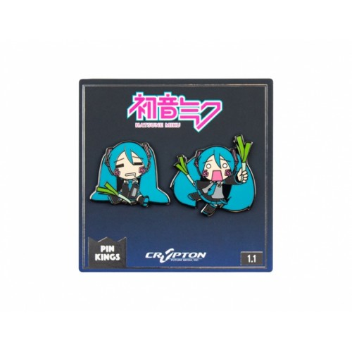 Значок Pin Kings Hatsune Miku 1.1 (набор из 2 шт.)
