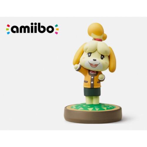 Фигурка amiibo Изабель (Зимняя одежда) (коллекция Animal Crossing)